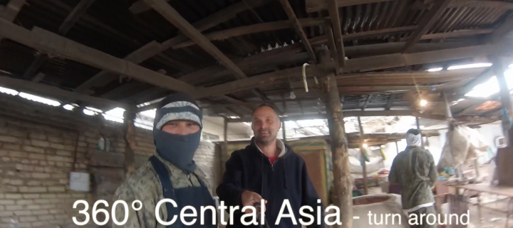 360° Central Asia go pro movie – turn around…………