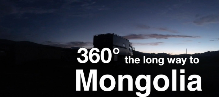 "360 Grad   –     ""The long way to Mongolia"" Movie"